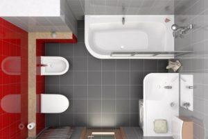 Перепланировки ванной комнаты – как перестроить санузел