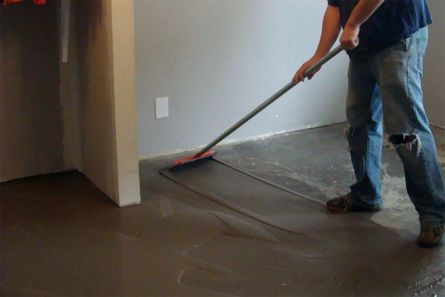 Выравнивание пола своими руками цементным раствором смеси бетонные стандарт