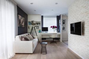 Дизайн двухкомнатной хрущёвки: выбор планировки, дизайн кухни, спальни и гостиной
