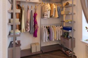 Гардеробная комната: планировка с размерами — как обустроить гардеробную комнату маленьких размеров